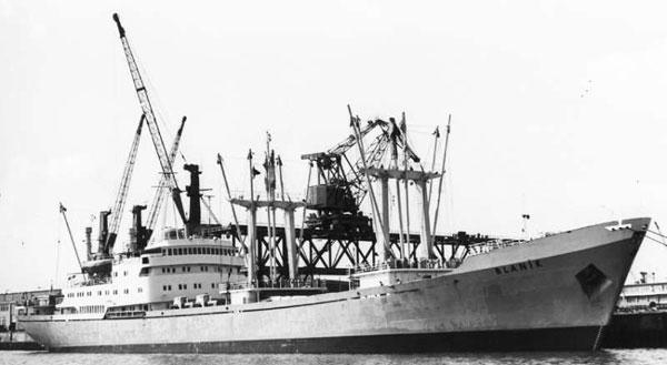 M/S Blanik Free Model Ship Plans