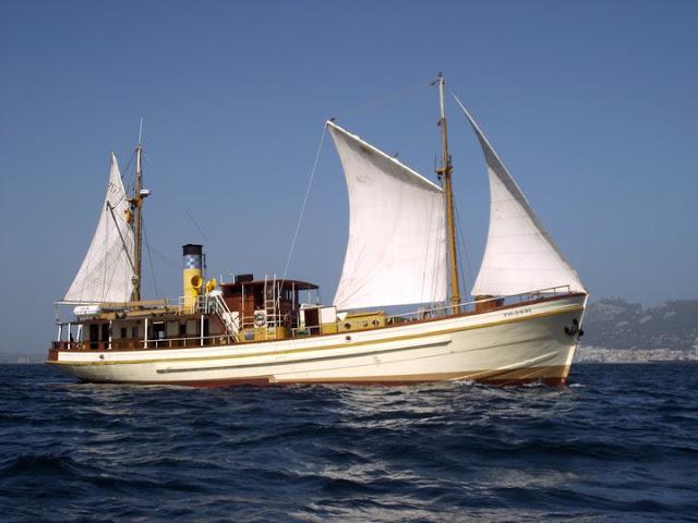 Hidria Segundo Steam Ship Blueprints - Free Ship Plans