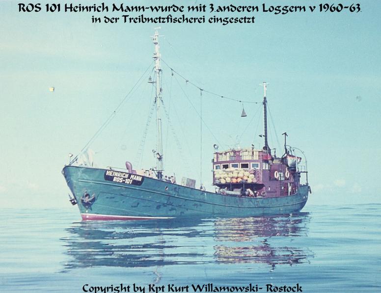 German Fishing Trawler Nietlogger plans blueprints