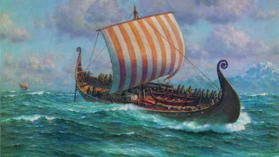Viking Ship Scale Model Plans
