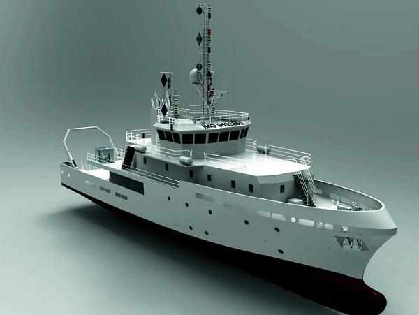 tubitak marmara 3d model ship