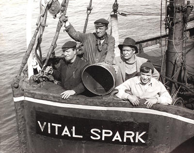 Vital Spark Clyde Puffer Plans - Free Ship Plans