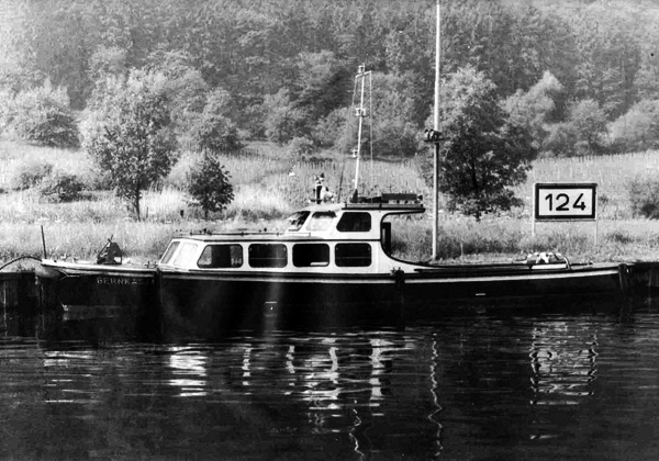 Bernkastel Passenger Boat model Plans