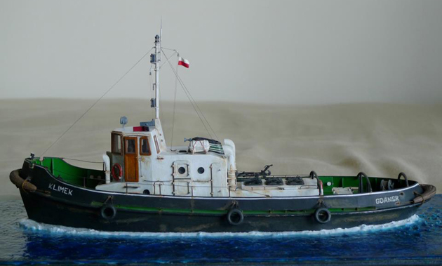 Scale Model Tugboat Klimek Plans