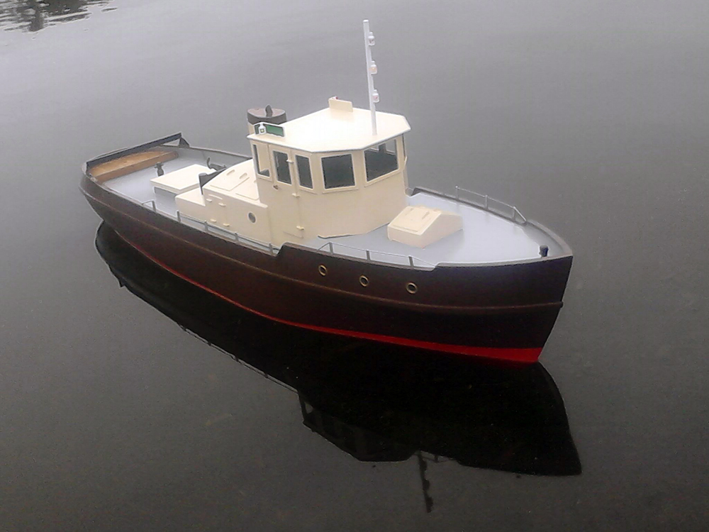 Dutch Harbour Tug Scale Model by Philip Reardon - Free ...