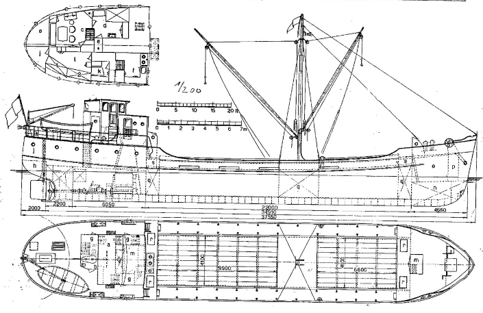 Paddle Steamer River Tug Lanna - Free Ship Plans