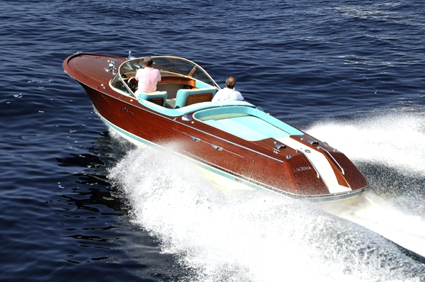 riva aquarama motor boat scale model