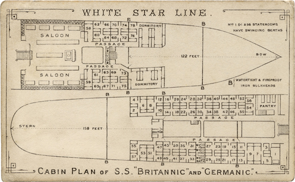 deck plan germanic britannic