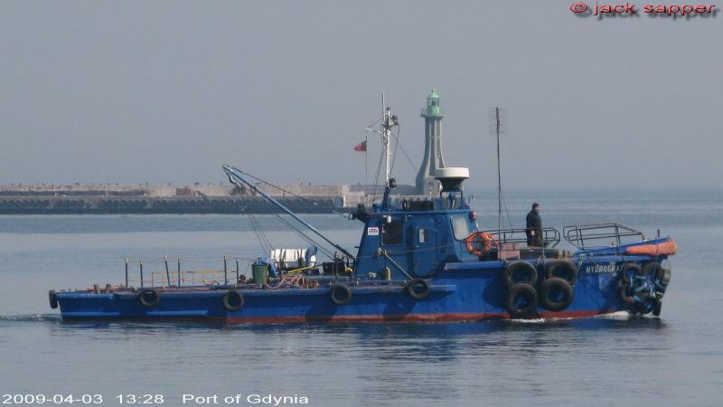 hydrograf 16 gdynia port 2009