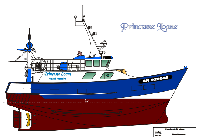 princesse loane trawler plans