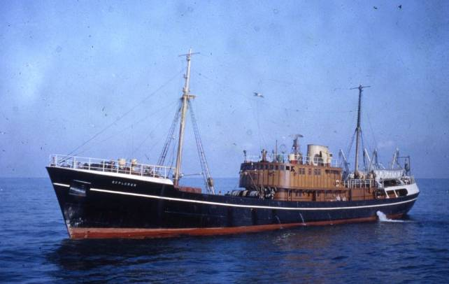ss explorer sailing