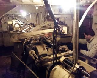 ss explorer steering gear