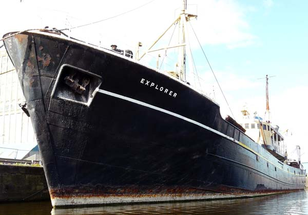ss explorer steamer fishery research vessel leith