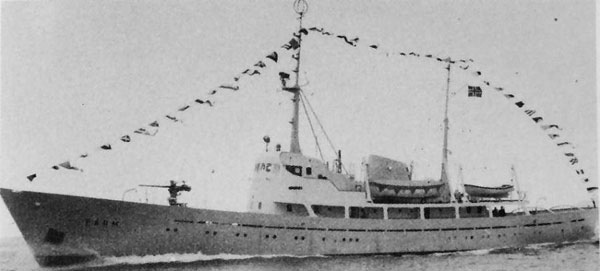 KV Farm Norwegian Coast Guard 1962