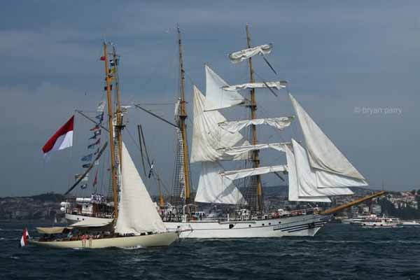 KRI Dewaruci dewarutji model tall ship plans