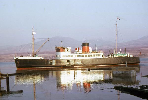 MV Lochiel islay mail boat 1939