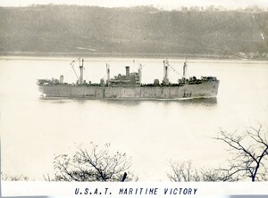 USAT Maritime Victory ship plans history frederic c murphy