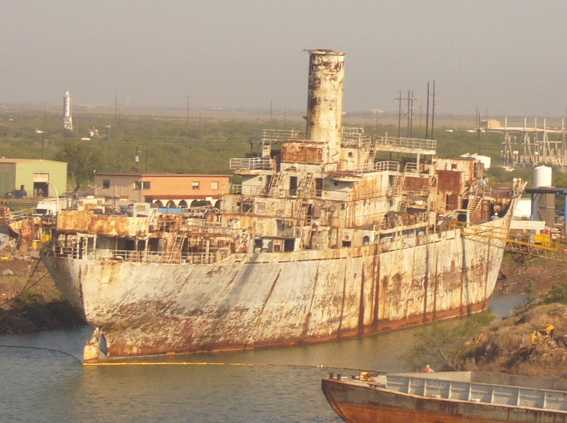 victory ship frederick c murphy scrap yard