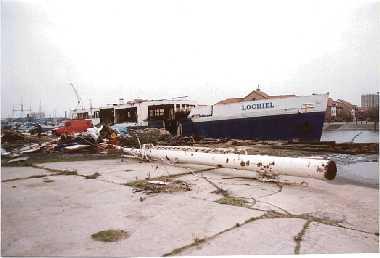 lochiel being scrapped