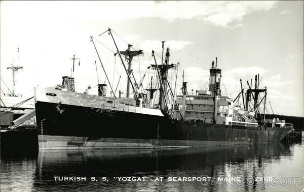 Turkish S. S. Yozgat victory ship