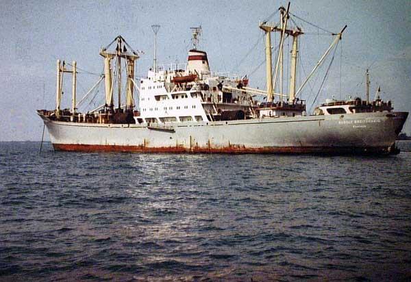 hobby model merchant ship