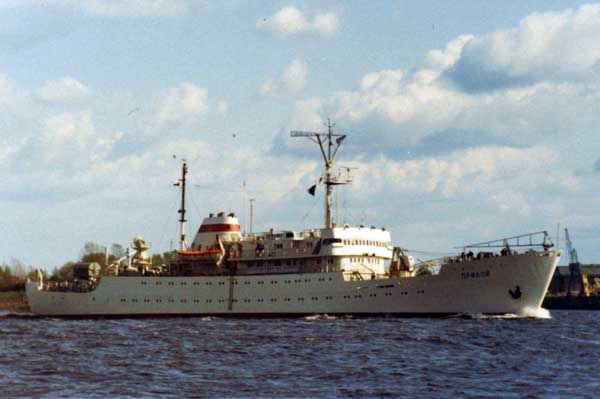 priboj research ship plans