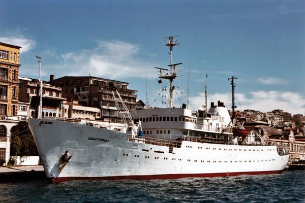 sevastopol 1 ship plans istanbul harbor