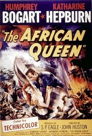 the african queen humphrey bogart katharine hepburn 1951
