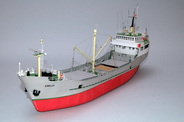 flora emilia model cargo ship blueprints