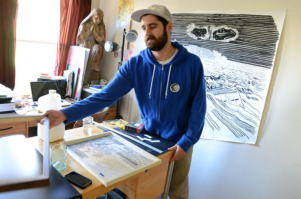 martin machado maritime artist sailor hobby painting