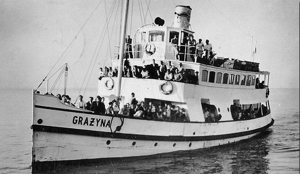 Grazyna ship model plans blueprints hobby