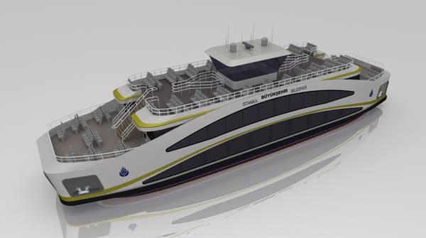 new istanbul ferry design şehir hatları yeni vapur 2014