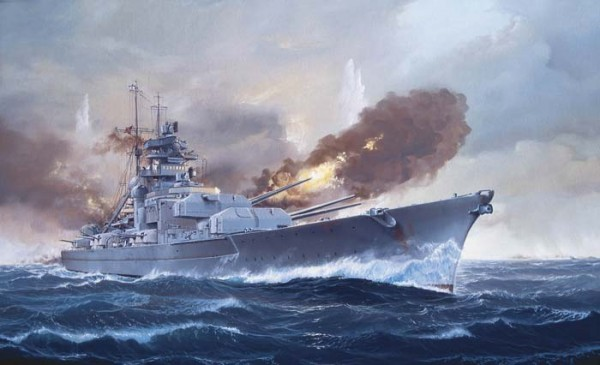 bismarck battle ship plans blueprints