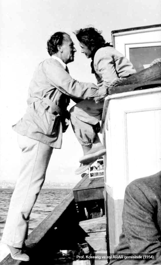 curt and leonore kosswig_onboard arar