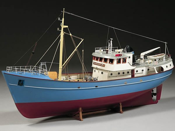 our new scale model boat blueprint comes from billing boats nordkap ...