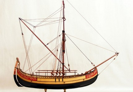 Ottoman istanbul trade boat kancabas