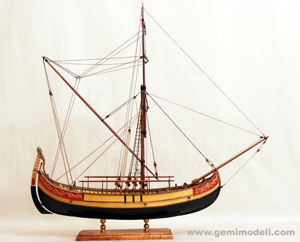 Ottoman coastal trade ship - Free Ship Plans