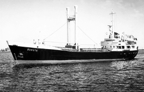 Boruta - Rokita model ship plans livestock carrier