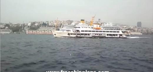 şh kadıköy istanbul ferry video