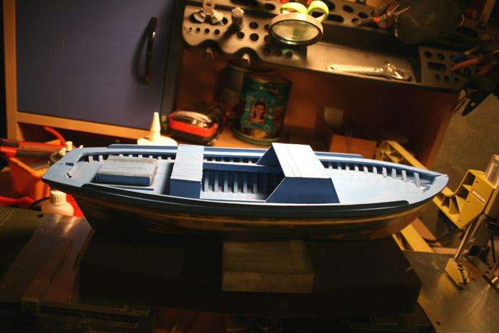fethiye fishing boat building tutorial 28