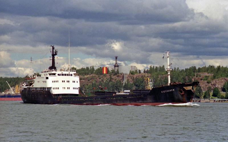 ciechanow dry cargo ship plans cover