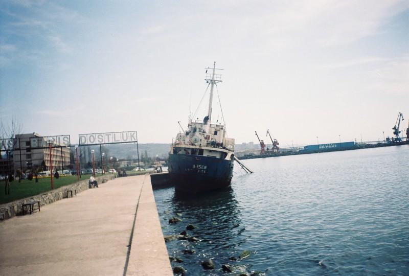 MV Ahsen beached eregli 1959 kremer werft