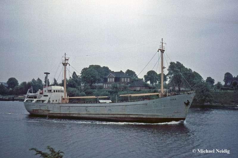 MV Ahsen wreck eregli 1959 kremer werft