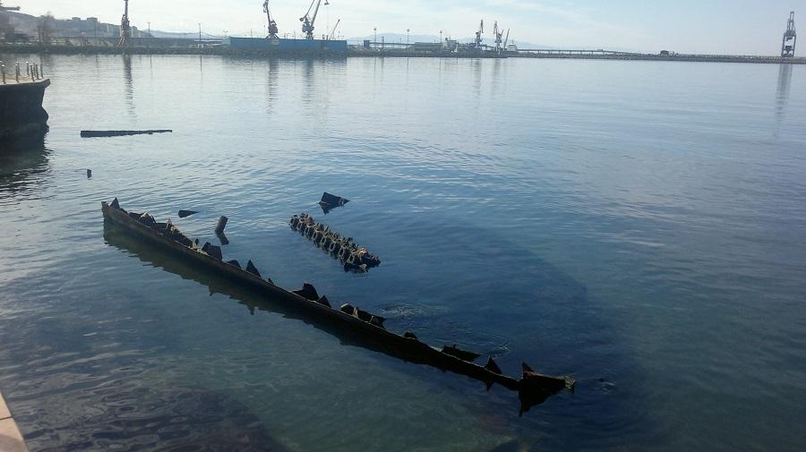 ahsen ship wreck eregli