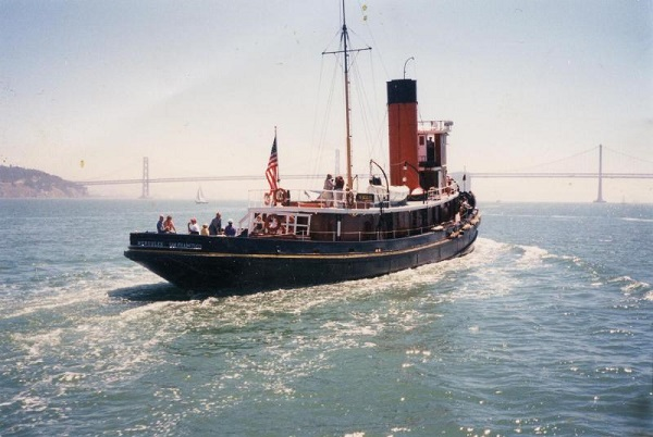 steam tugboat plans hercules