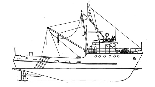 Model Shrimp Boat Plans Blueprints