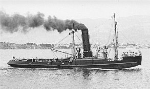 Goliath steam tugboat model ship plans blueprints