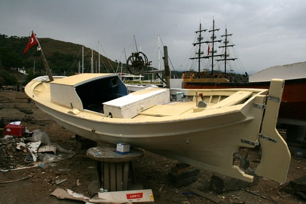 Fethiye Fishing Boat model building guide Part 1 - Free Ship Plans