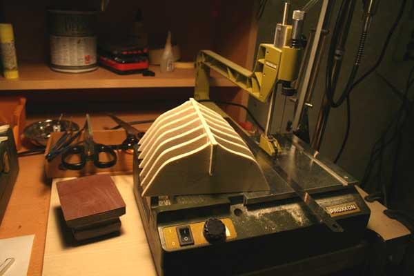 Fethiye Fishing Boat model building guide Part 1 - Free Ship Plans